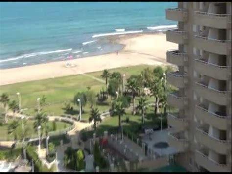 vistas de los apartamentos en segunda linea de playa