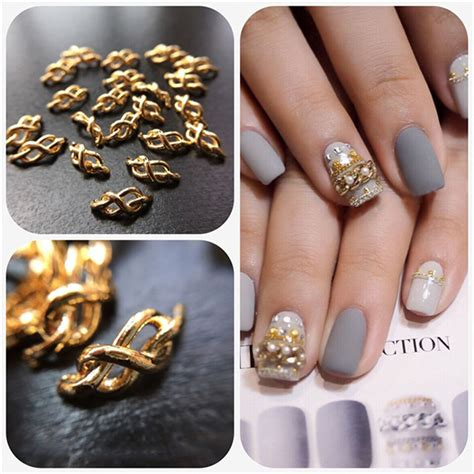 Nail Decorations by 2 66 1pc 3 11mm Chain Nail Studs 3d Nail Decoration For