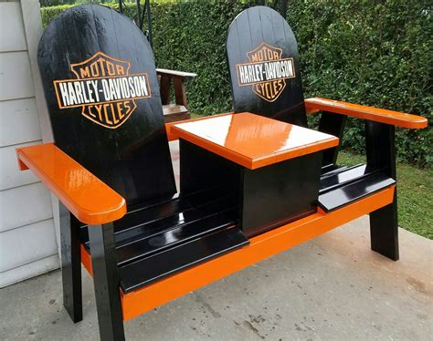 harley davidson bench harley bench with a cooler porch benches pinterest harley davidson men cave