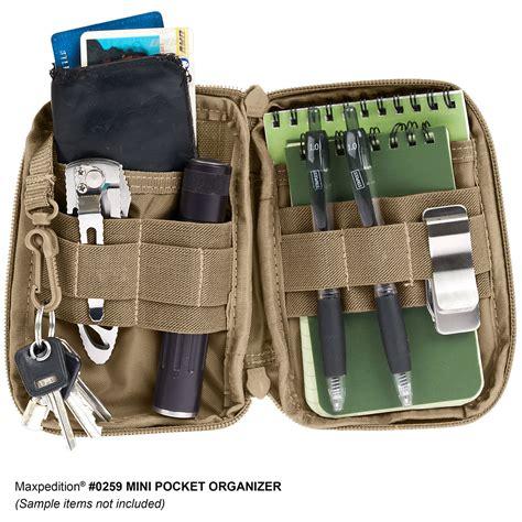 Espro Organizer Kit maxpedition mini pocket organizer mil spec monkey store