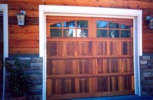 garage doors portland s custom garage doors