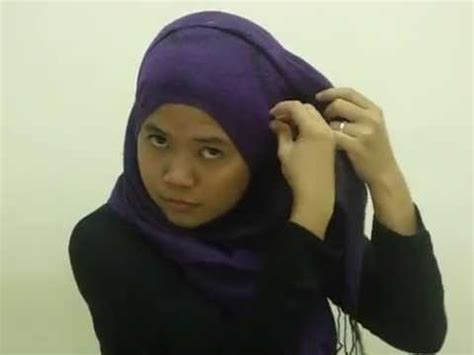 tutorial pashmina tutup dada hijab tutorial guna pashmina hana tajima inspired tutup