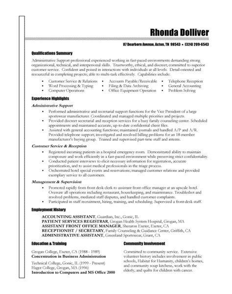 Free Sle Of Resume Writing Information Licensed For Non Commercial Use Only Resume Sles