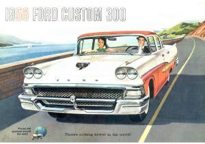 dezo's garage|1950 1959 ford car pdf sales brochure