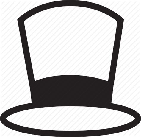 black and white irish top hat clip art black and white