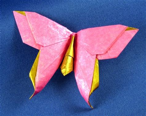 Origami Swallowtail Butterfly - origami butterflies by richard l and greg