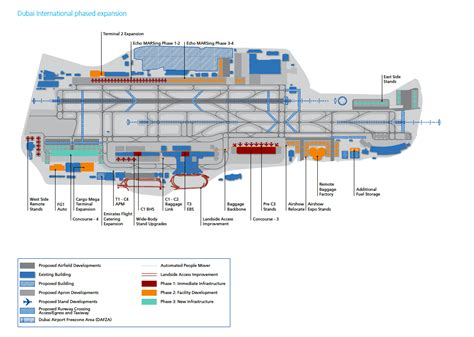 Dubai Airport Floor Plan | about airport planning dubai airport master plan