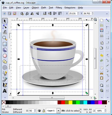 inkscape tutorial android icon android launcher icons using inkscape tek eye
