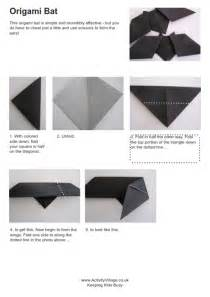Beginner Papercraft - origami bat and photos