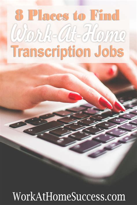 8 Places To Meet by 8 Places To Find Work At Home Transcription Work At