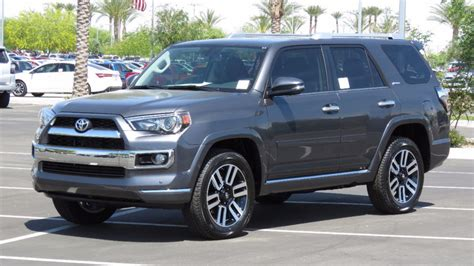 New Toyota 4 Runner 2017 New Toyota 4runner Limited 4wd At Toyota Of