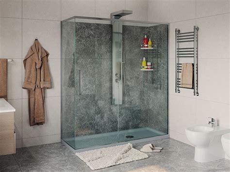 cabine doccia remail remail doccia prezzi pedana antiscivolo in legno with