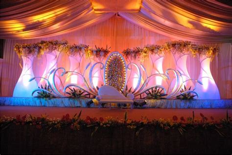 wedding stage decoration themes outdoor indian wedding stage decorations indian wedding