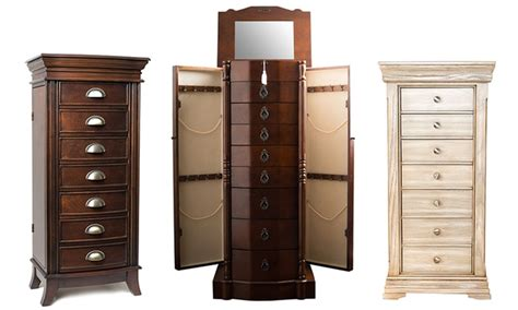 emma jewelry armoire hives and honey jewelry armoires groupon