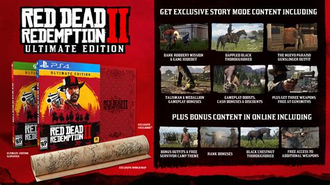 Special Edition 2 dead redemption 2 special editions and pre order