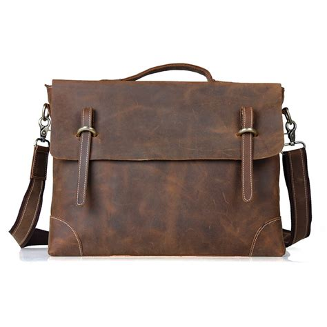laptop bags leather leather bag briefcase 16 inch leather laptop computer bag bagswish