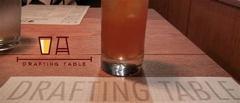 Drafting Table Now Open On 14th Street Drink Dc The Drafting Table Dc Happy Hour