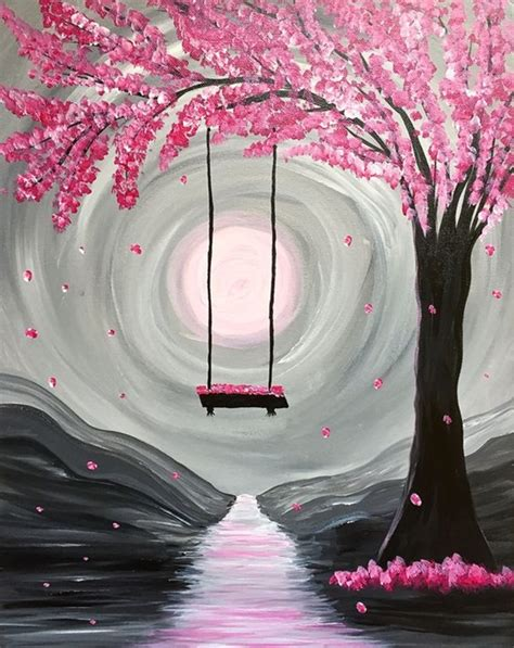 spring painting ideas 40 easy canvas painting ideas for art lovers