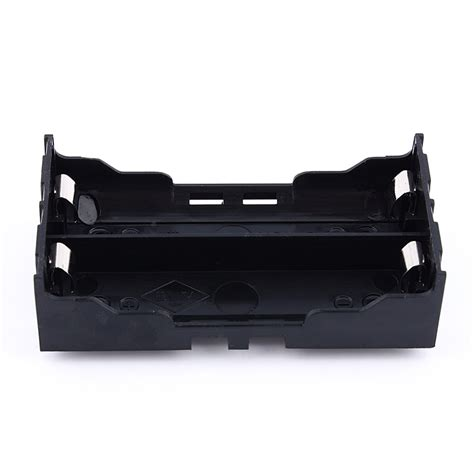Baterai Holder 18650 X 2 plastic diy lithium battery box battery holder with pin suitable for 2 x 18650 3 7v 7 4v