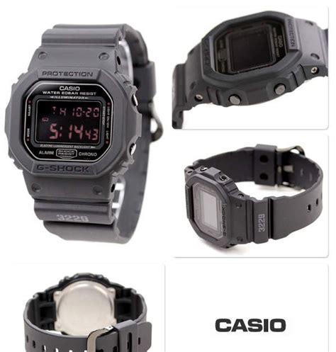 Jam Tangan Casio G Shock Dw5600 jual jam tangan casio g shock 5600 series dw 5600 ms 1