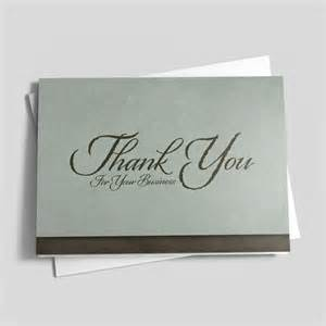 corporate thanks thank you cards from cardsdirect