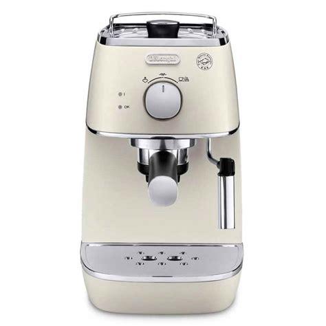 delonghi espresso maschine delonghi distinta espresso cappuccino machine white
