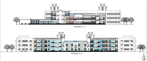 Hospital Sections by Archshowcase Multispeciality Hospital By Chirag N Mulani