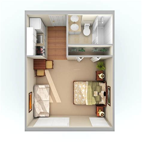 studio apartment square footage 300 sq foot studio princess palace conversion garage