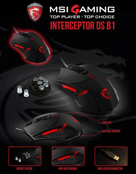 Mouse Msi Ds B1 msi gaming mouse bundle on pcexpress yuneoh events
