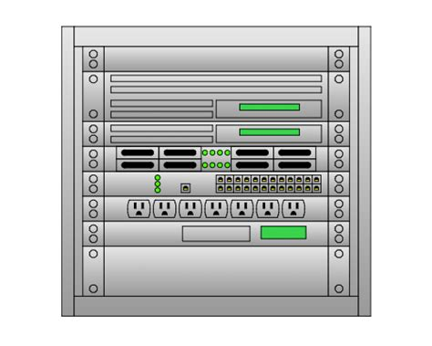 server rack diagram software rack diagram software lucidchart