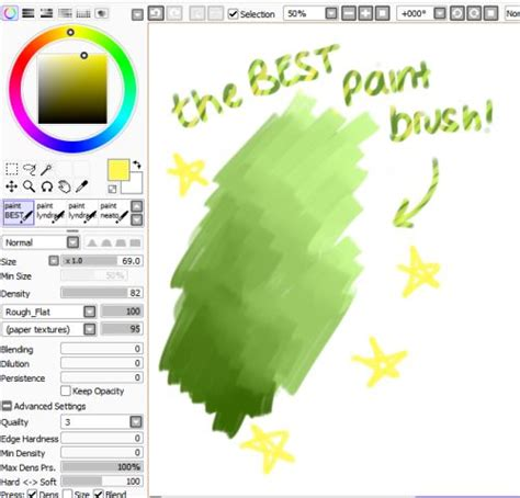 paint tool sai brush set 50 best pts brushes images on drawing