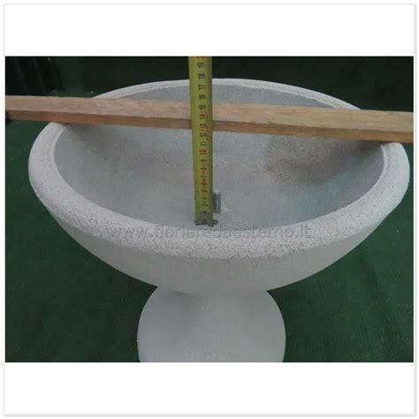vasi in cemento da esterno vasi in cemento ciotole lisce 0307017 poroso fioriere da