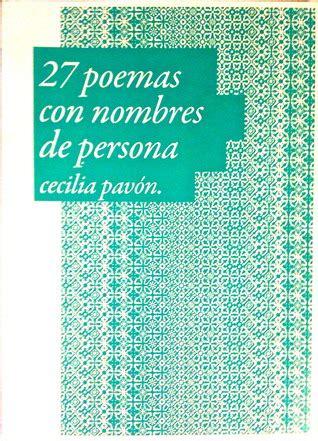 reflexiones de un hombre edition books 27 poemas con nombres de persona o un poema con 27