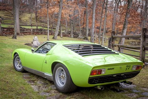 1960 Lamborghini Miura Lamborghini Miura P400s Sv Specification 700 000 Usd