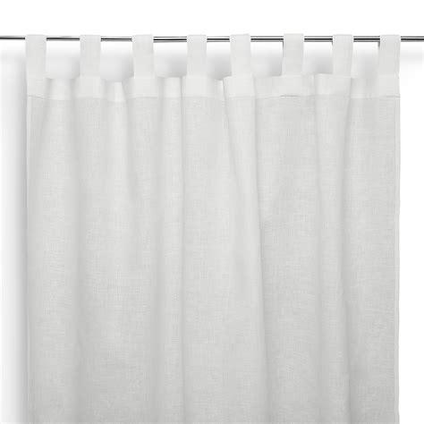 tende a bastone tenda a bastone in lino asole bianco panna cuore di lino