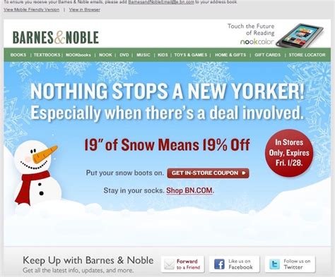 Barnes And Noble Website how to personalize each email to maximize engagement