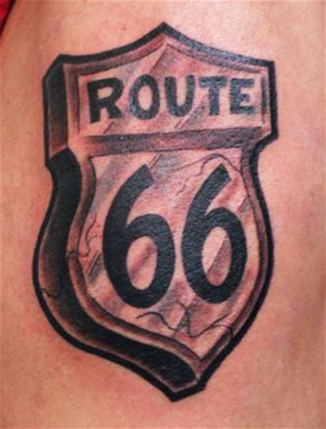 route 66 tattoo route66 tattoos and tatting