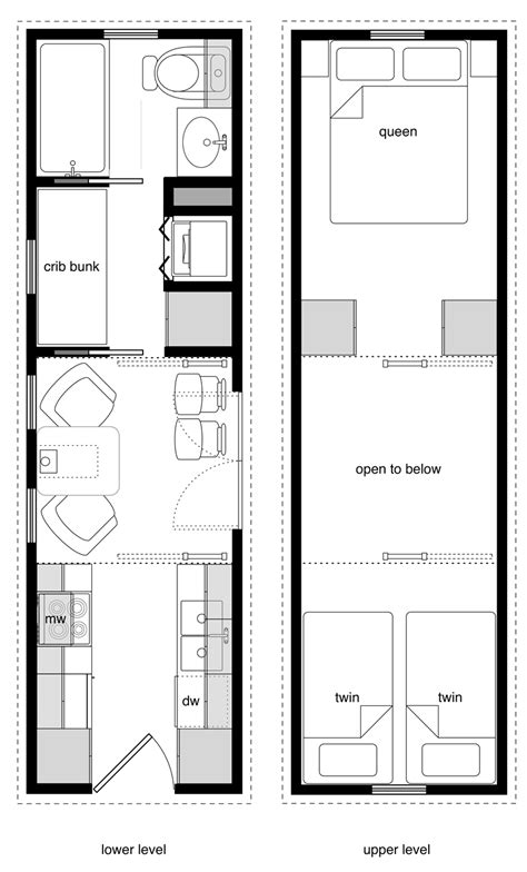 tiny house floor plan family tiny house design tiny house design