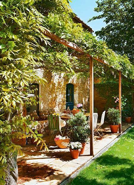 decoracion de jardines con piedras y cañas en en co estancias de ensue 241 o pinterest