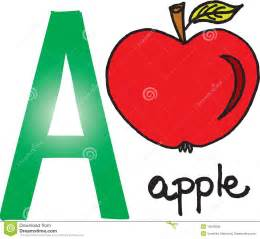 letter a apple royalty free stock images image 10049999