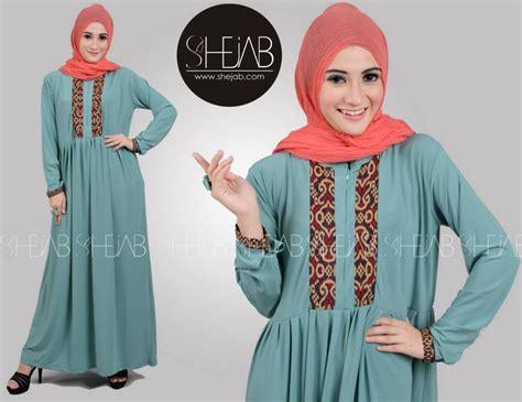 Gamis Bhn Kaos Model Ambrela 1 contoh foto baju muslim modern terbaru 2016 foto baju muslim gamis casual bahan kaos terbaru 2016