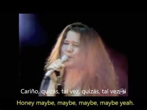 janis joplin  subtitulos ingles  espanol youtube