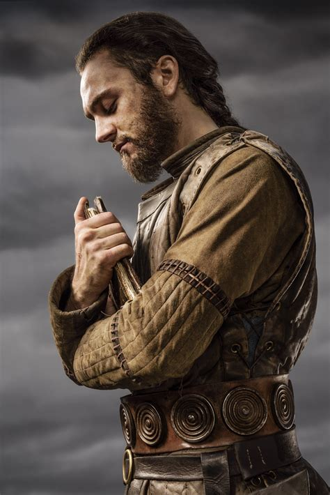 does ragnar get back with his first wife vikings athelstan season 3 official picture vikings tv