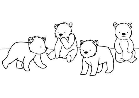 imagenes para colorear ositos carnaval de los osos dibujo para colorear e imprimir