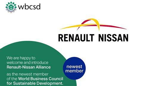 consejo empresarial mundial para el desarrollo sostenible la alianza renault nissan se une al wbcsd movilidad