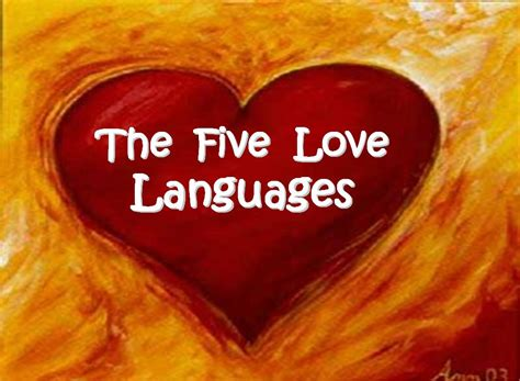 the 5 love languages 5 love languages on the line