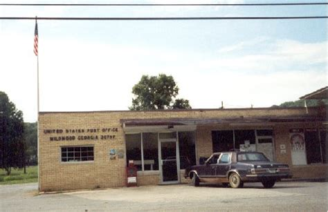 Wildwood Post Office by Post Office Photo Collection Post Collectors Club