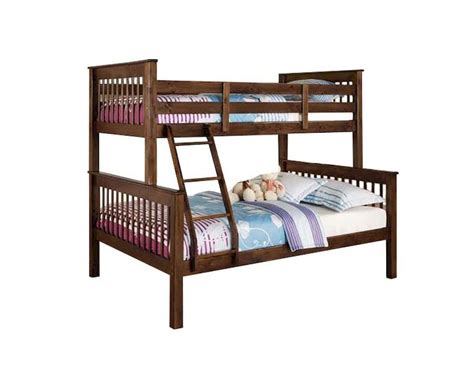 Acme Bunk Bed Acme Furniture Bunk Bed In Walnut Ac02417