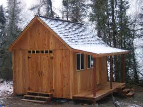 Tiny Cabin Plans Better Barns Cabin