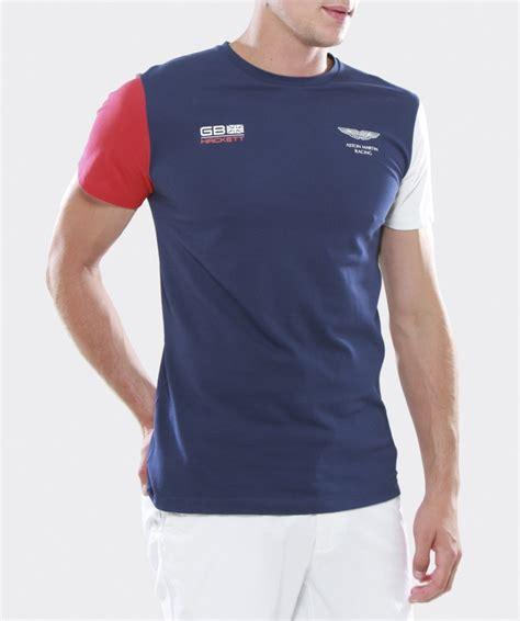 T Shirt Aston Martin lyst hackett aston martin racing t shirt in blue for